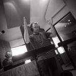 Lars Møller conducting