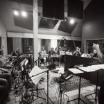 Aarhus Jazz Orchestra recording at Finland Studio 2013
