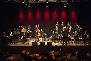Aarhus Jazz Orchestra performing